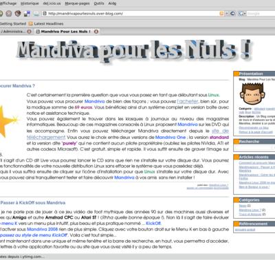 Un nouveau blog pour Mandriva