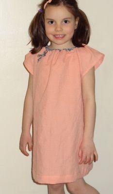 Une petite robe d'été pour le défi Marie