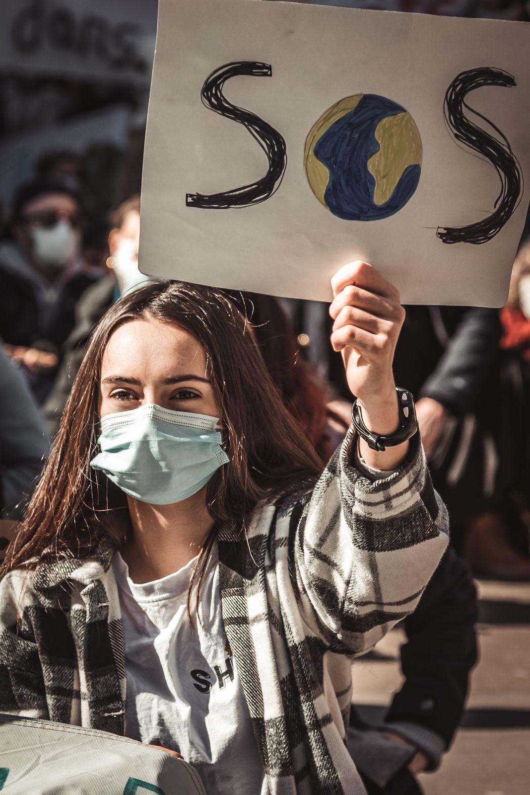 Photos de la Marche pour le climat samedi 20 mars 2021 à Metz
