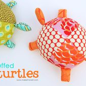 Stuffed Fabric Turtles (with pattern pieces)   Make It and Love It