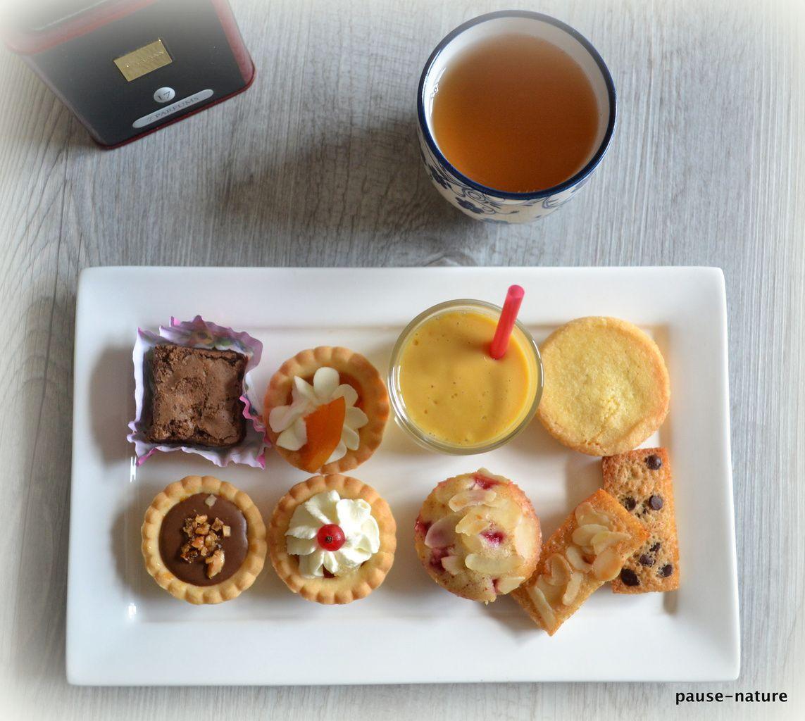 Thé ou café gourmand XXL