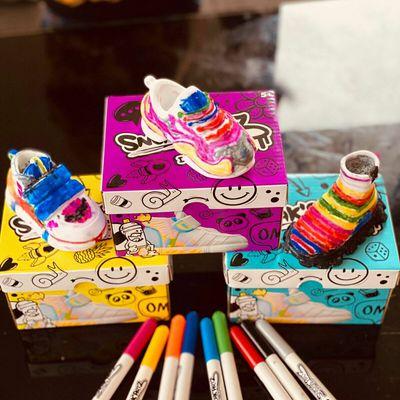 Sneak'artz customise toi-même tes baskets de splash toys