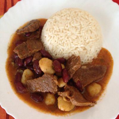 Recette du « boeuf dombrés haricots rouges », selon Tatie Maryse