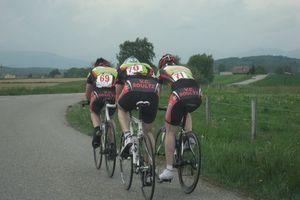 Championnats d'Alsace CLM équipe 2009