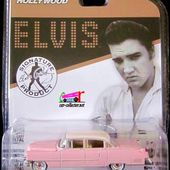 1955 CADILLAC FLEETWOOD ELVIS PRESLEY GREENLIGHT 1/64. - car-collector.net: collection voitures miniatures