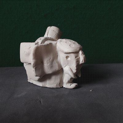 Le modelage - L'éléphant ...