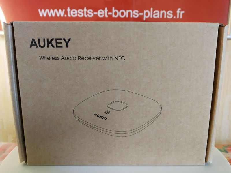 unboxing du récepteur audio Bluetooth 5.0 + NFC nomade - Aukey BR-C16 @ Tests et Bons Plans