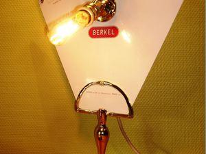""""""" LA BERKEL """" - Lampe balance de l'épicerie d'autrefois - VENDUE !!"""