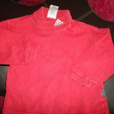 Sous pull Adidas rouge