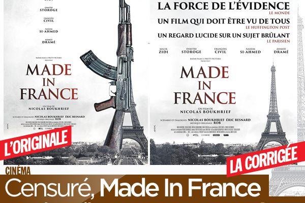 Censuré, Made In France sortira directement en VOD ! #MadeInFrance