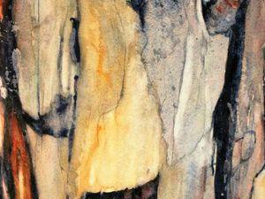 Bouleaux (36 x 63 cm) et Anfractuosités (36 x 56 cm)
