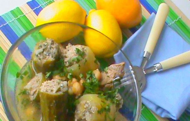 Courgettes farcies........Dolma