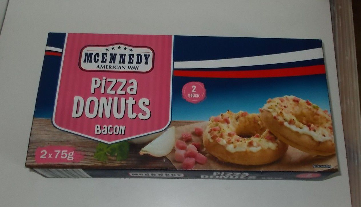 Lidl McEnnedy Pizza Donuts Bacon