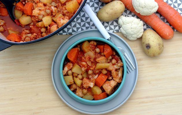Ragoût de légumes d'hiver et pois chiches