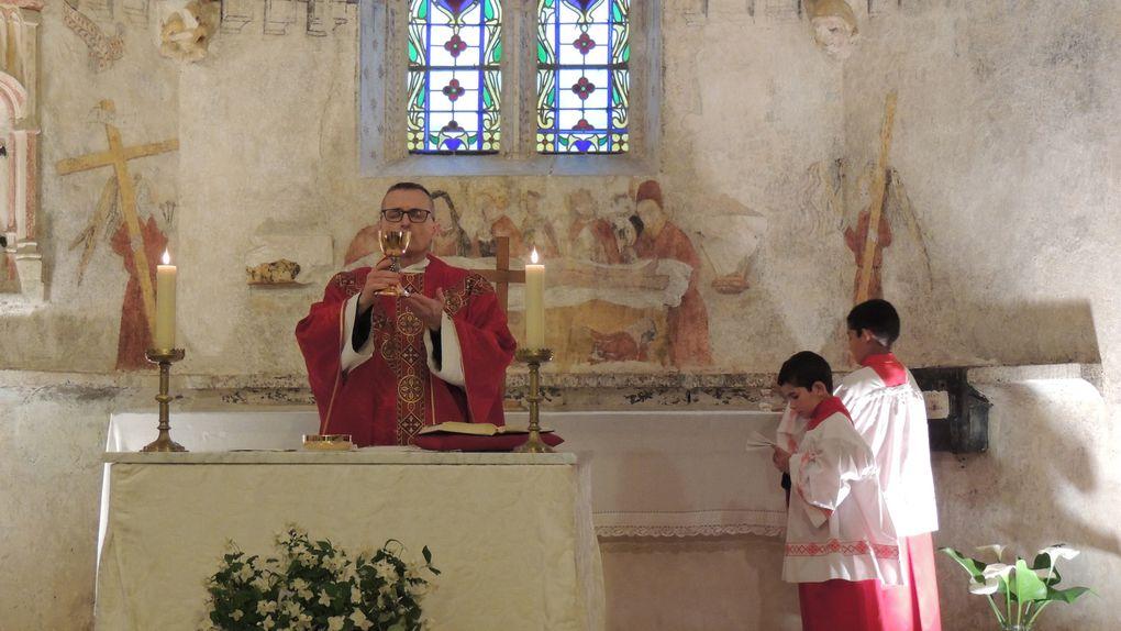 Messe de la Vigile de Pentecôte....