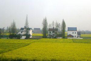 Hubei (1) ... Deux superbes heures de train entre Yichang et Wuhan