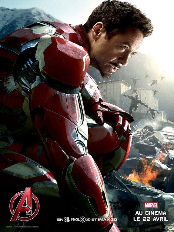 """Les affiches """"Avengers 2"""""""