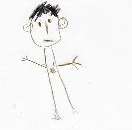 Évolution du dessin du « bonhomme » chez des enfants de 3 à 5 ans
