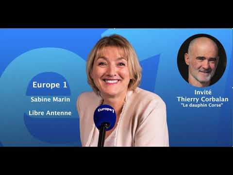 Interview sur Europe1 par Madame Sabine Marin.