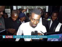 Blaise Matuidi à Kinshasa