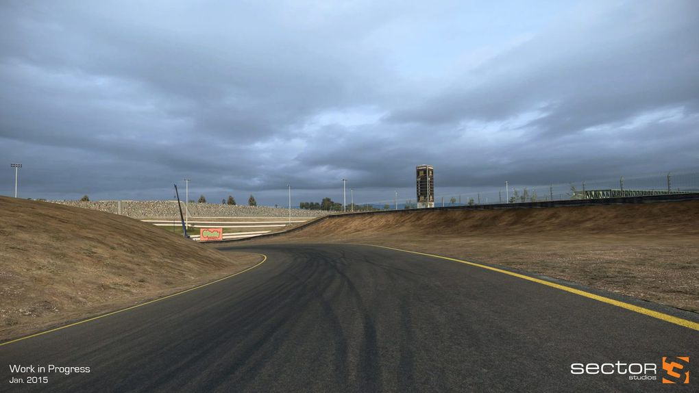 R3E circuit Sonoma en préparation