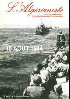 L'AFN le 15 AOÛT 1944