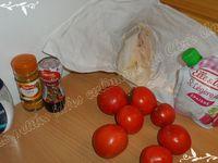 Médaillon de sabre à la tomate accompagné de sa sauce curry