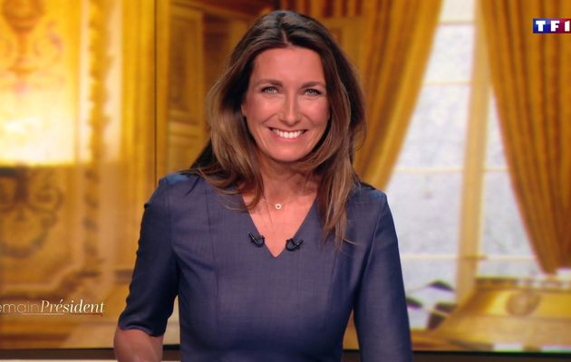 📸18 ANNE-CLAIRE COUDRAY @ACCoudray @TF1 @TF1LeJT pour DEMAIN PRESIDENT #vuesalatele