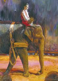 Circus Knie, Mary-José en amazone (1998)