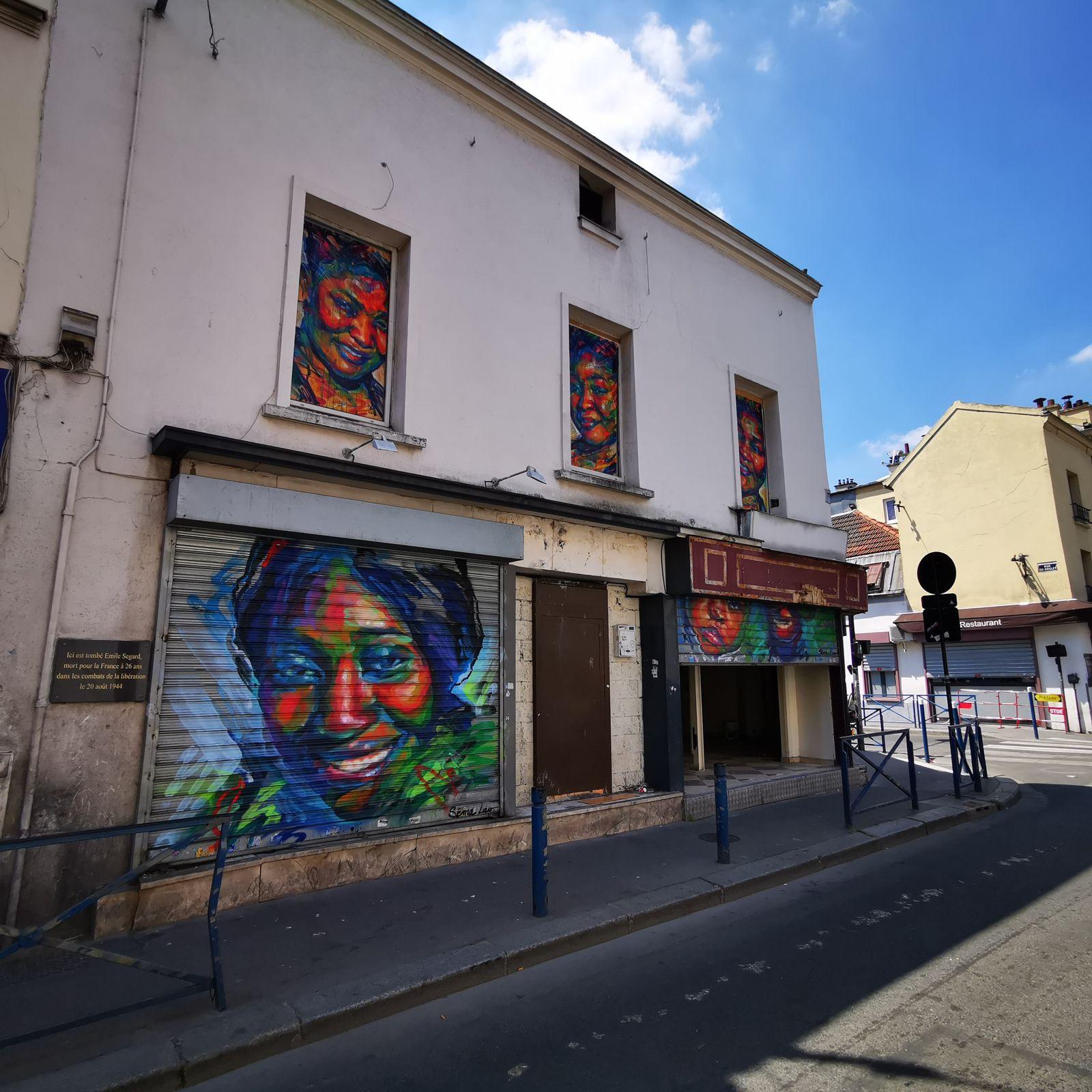 Fenêtre sur rue #2 à Aubervilliers