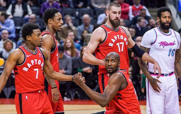 Les Raptors confortent leur fauteuil de leader de la Conférence Est