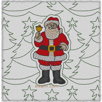 Père-Noël quilté