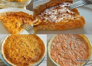 Tarte aux carottes et thym