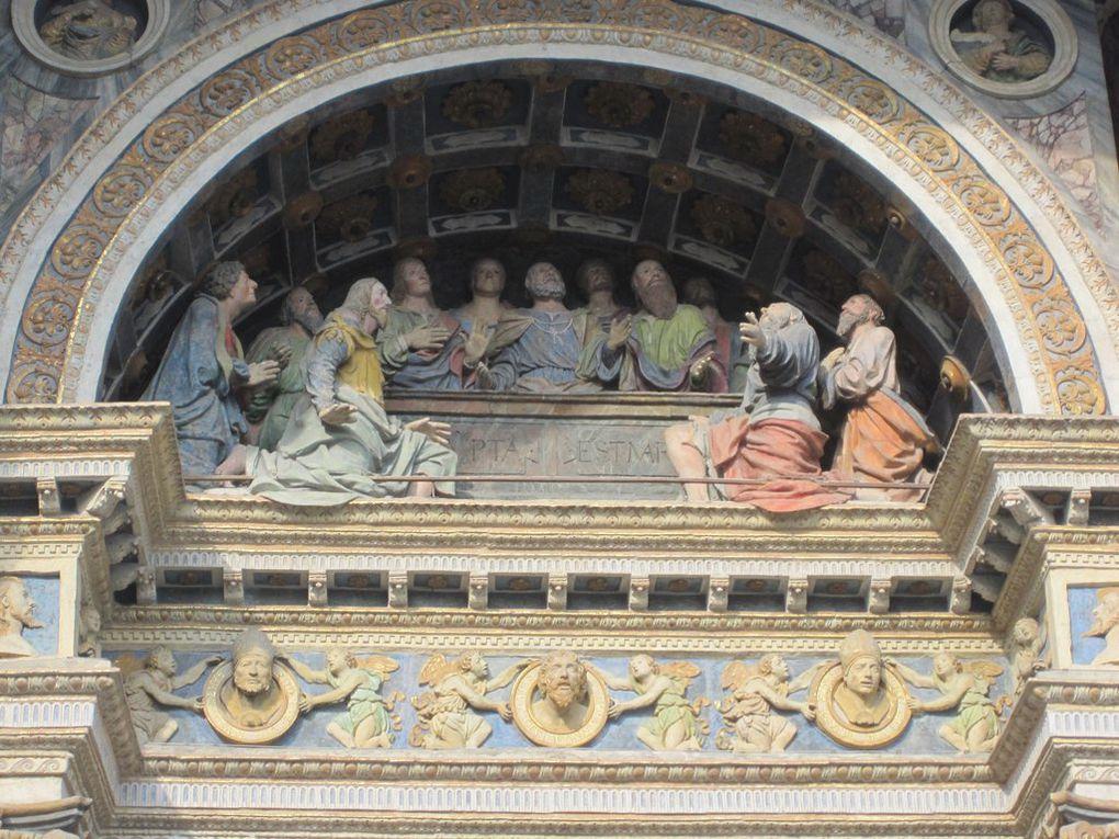 Du 22 au 28 juillet l'ensemble a travaillé et donné 3 concerts à Peisey-Nancroix et Séez (73), et à Aoste (Italie). Le cadre baroque des églises, plein de couleur et de mouvement, formait un écrin parfait pour le programme musical.