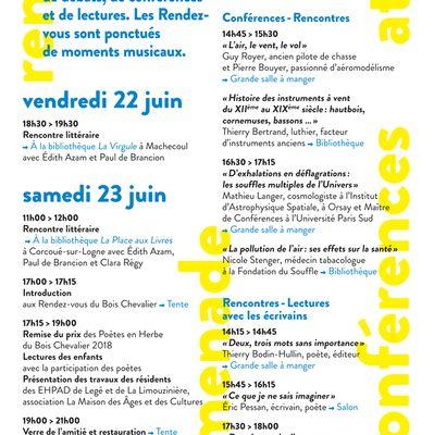 Le programme de la 10è édition