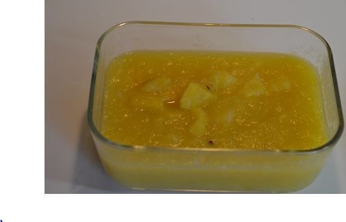Compote pommes ananas :une recette cookeo