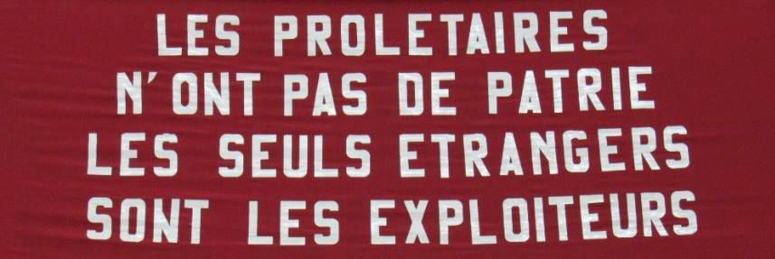 nationalisme communautarisme drapeau frontière Internationalisme anarchisme