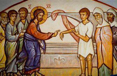 Mc 3, 1-6 Jésus entre déjà dans sa passion, il y entre librement.