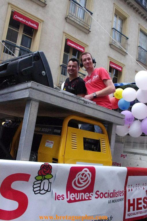 Samedi 8 juin, se déroulait à Rennes,  la Marche des Fiertés 2013