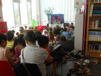 """12 - Décembre - 2016 - présentation de """"Gouttelette - Gocciolina - Droplet"""" à  La Médiathèque de l'Alliance française de Bangkok"""