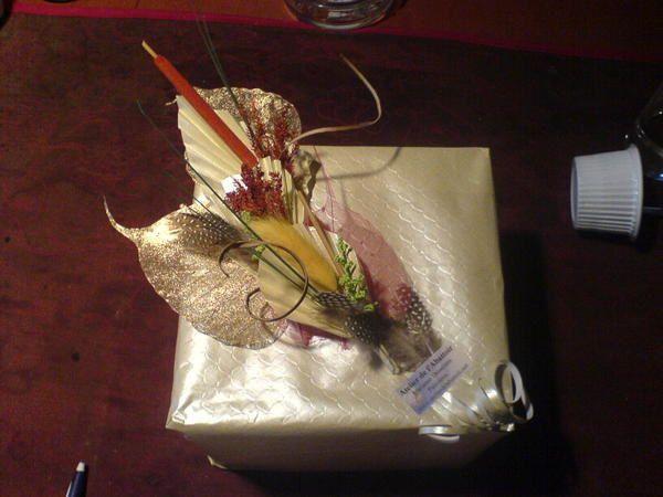 <p>Recevoir un cadeau super bien emball&eacute;, la personne sera d&eacute;j&agrave; &eacute;mue par son apparence ext&eacute;rieure.</p>