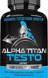 Alpha Titan Testo - It's Work For Increase T-Level