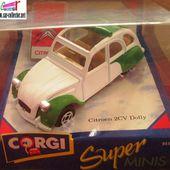 CITROEN 2CV DOLLY 1985 CORGI 1/35 EDITION LIMITEE - car-collector.net