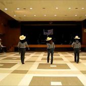 """country line dance""""Cold Cold Heart"""""""
