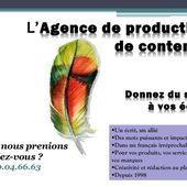 Agence de communication écrite correction relecture reecriture transcription saisie de donnees