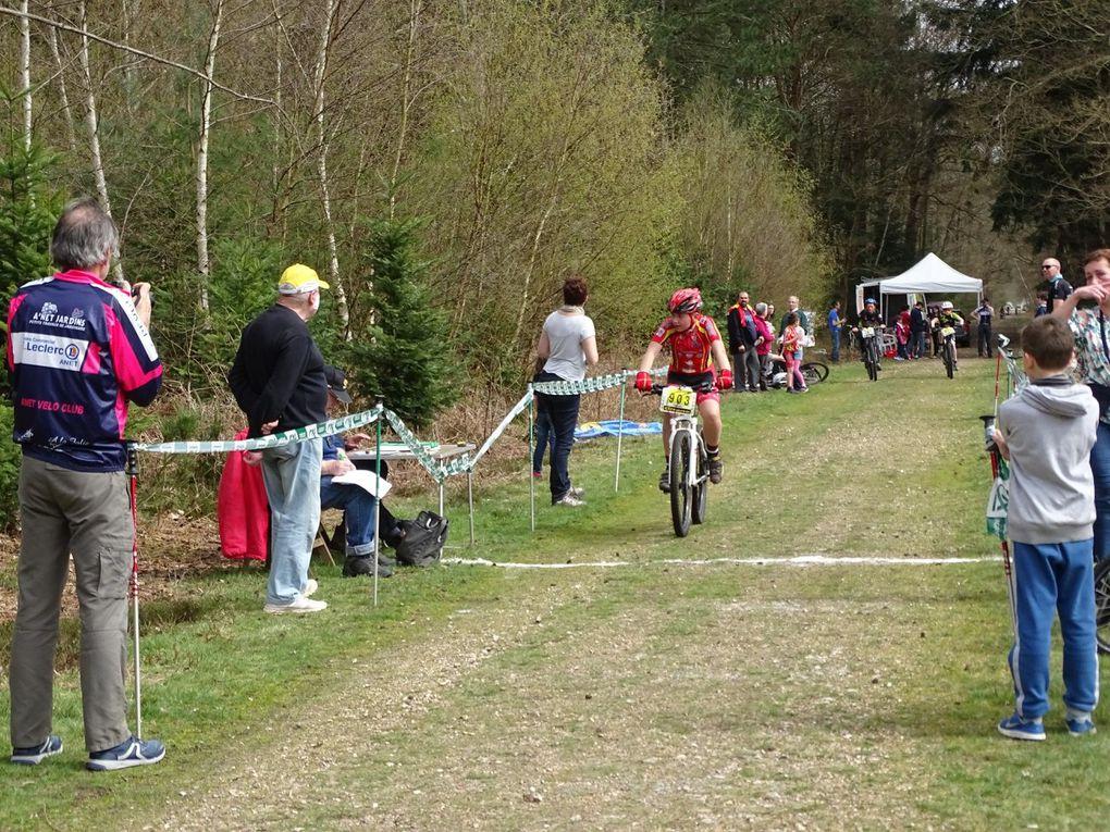 Les résultats du VTT XC en forêt de Dreux