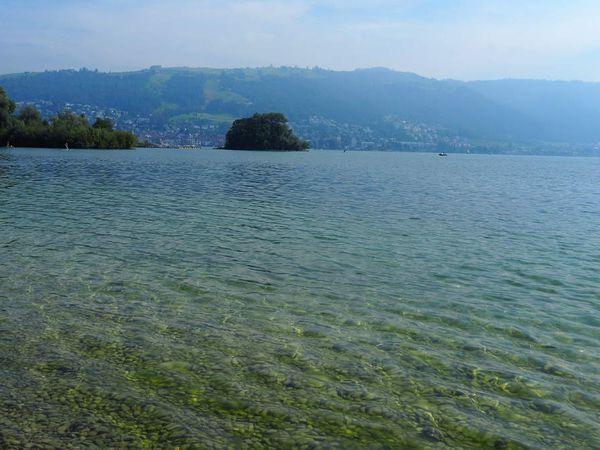 ZG: Cham et le lac de Zoug