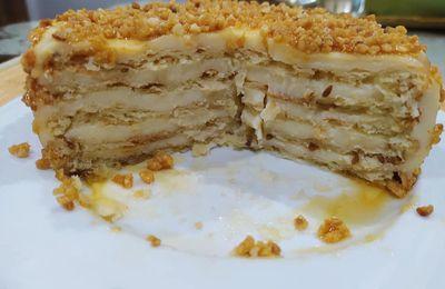 Pastel de tortas de aceite