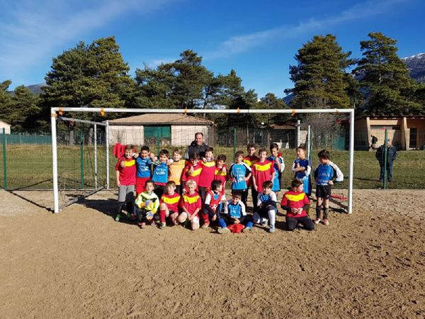 Saint André les Alpes : l'Entente Foot Verdon Castillon contre Sisteron