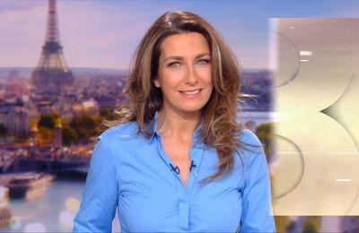 Anne-Claire Coudray, ce bleu qui lui va si bien - 13h - 28-11-2020